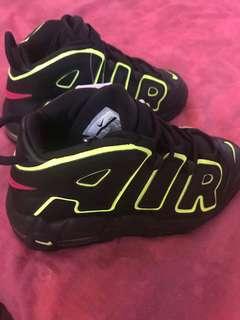 BN/ORIG: Nike Air More Uptempo (Black/Volt)