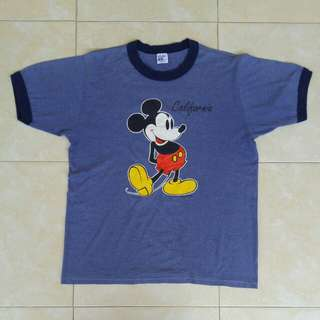 5050 MICKEY MOUSE CALIFORNIA RINGER VINTAGE RETRO SHIRT