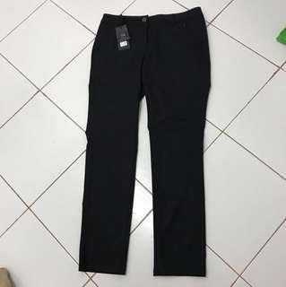 Bega Long Black Pant Trousers