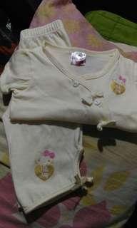 Baby sleepwear terno