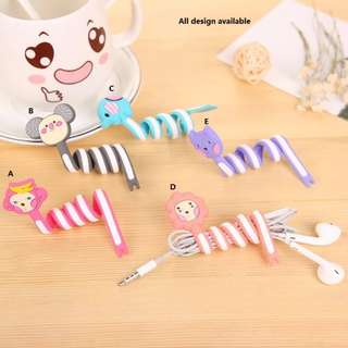 Cute Cable Tie Cable Winder Cord Manager Organizer