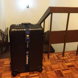Rimowa Topas Stealth 63 L or Cabin size