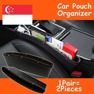 Leather Car Seat iPocket Organizer Pouch - Ultimate Car Storage Solution