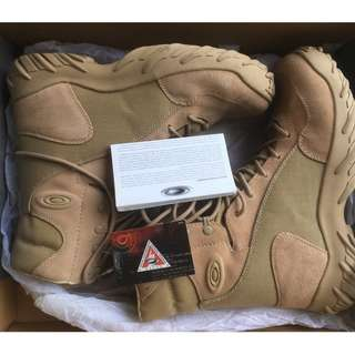 Oakley SI Assault Boots 8 inch tactical (Desert) BNIB