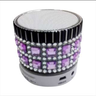 Advance ES030 Diamond and metal SPEAKER MINI usb mic mik bluetooth