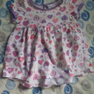 Cuddle Bear Dress 3-6mos.
