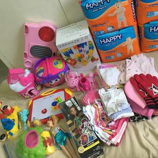Declutter, outgrown, bought in usa