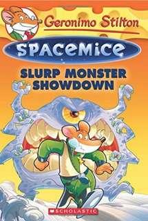 Slurp Monster Showdown (Geronimo Stilton Spacemice #9) Retail up to $12.95