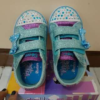 Lighting Skechers Twinkle Toes Size6