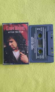 GARY MOORE. after the war. Cassette tape not vinyl record