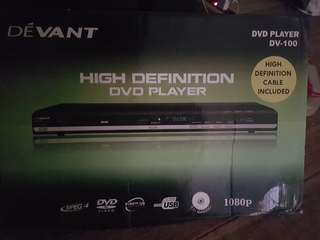DEVANT DV-100 DVD PLAYER