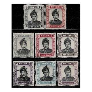 BRUNEI 1964 Sultan Sir Omar Ali Saifuddin BL583