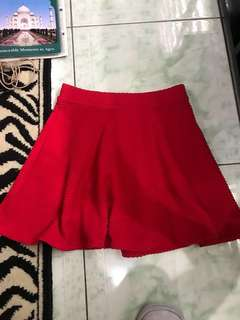 """Repriced!! """"F&F"""" high waisted ribbed skirt"""