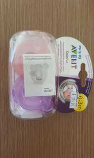 Avent soothie pacifier 0m