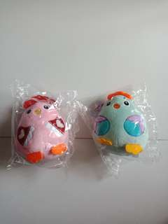 Squishy chicken with hanger 2 for $6.80