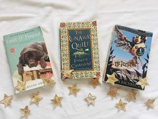Lost and Found, The Runaway Quilt, The Peculiar