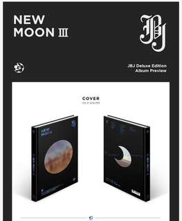 [Preorder] JBJ- New Moon (Deluxe Edition)