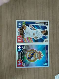 Macth Attax cards ( Real Madrid )