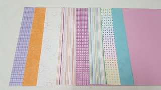 Scrapbook Papers (9pcs)