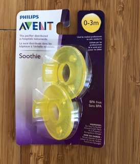 Avent Soothie 0-3m