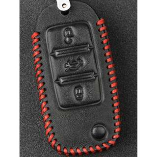 Volkswagen Scirocco Type H Car Key  Leather Pouch