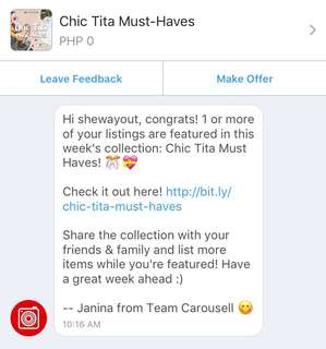 Thank you, Carousell! ♥️