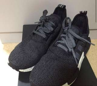 Adidas NMD R1 Black Reflective Champs Exclusive