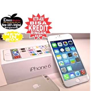 Kredit low dp 800 iPhone 6 16GB Original-Promo Ditoko ktp+kk bisa wa;081905288895