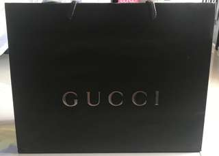 Paperbag Gucci Authentic