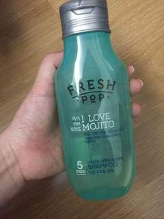 韓國Fresh Pop全新洗髮精