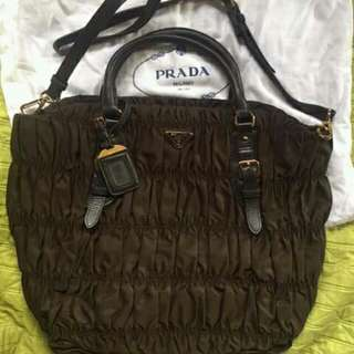 Prada two way bag