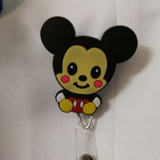 Cartoon name tag holder
