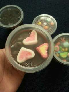 Chocolate Jar Door Gift (Marshmallows)