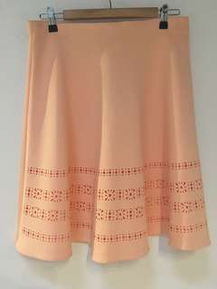 Sportsgirl Peach Skirt