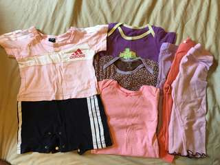 Fox carter Adidas baby girl bundle 6-24mths