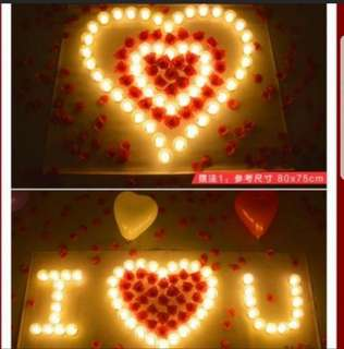 INSTOCK LED CANDLES FOR PROPOSAL PACKAGE