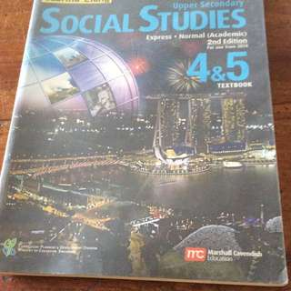 Social Studies Upper Secondary