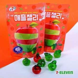 🚚 韓國7-11蘋果軟糖