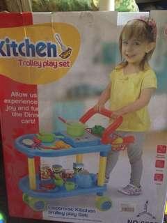 Pre loved kitchen trolley set