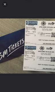 Looking for ticket UAAP 80 Admu vs DLSU VIP or LB