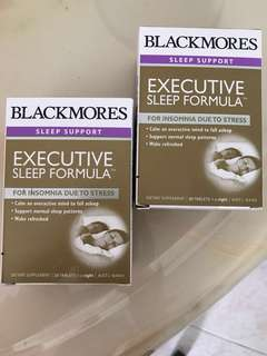 Blackmores Sleep Support (2 New/Unopened Boxes) Original:$72