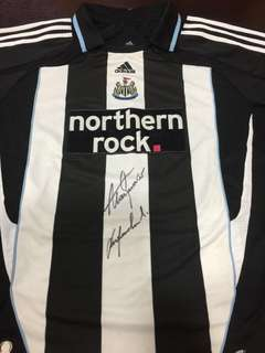 Newcastle United Signed Home Jersey