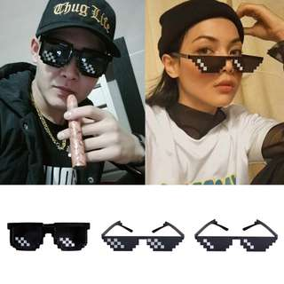Thug Life Deal With It Unisex Mosaic Sunglasses