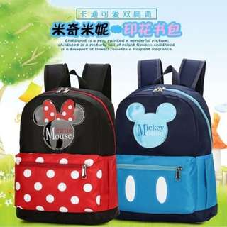 Mickey & Minnie Mouse Kids Backpack