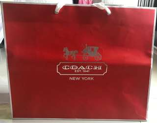Paperbag Coach Authentic