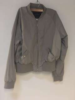 Cotton On Bomber Jacket - Grey