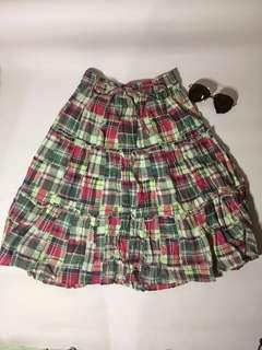 Colourfull Square Skirt