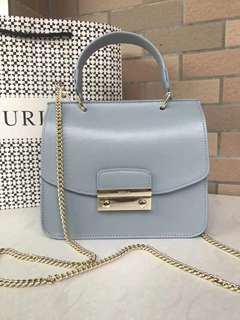Furla Julia Top Handle - greyish blue