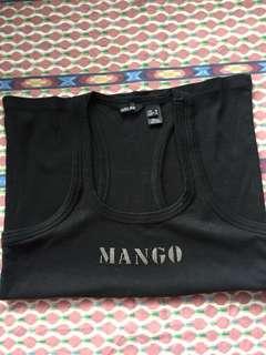 Authentic Mango racerback top