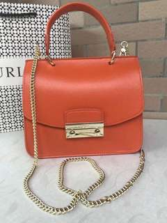 Furla Julia Top Handle - orange
